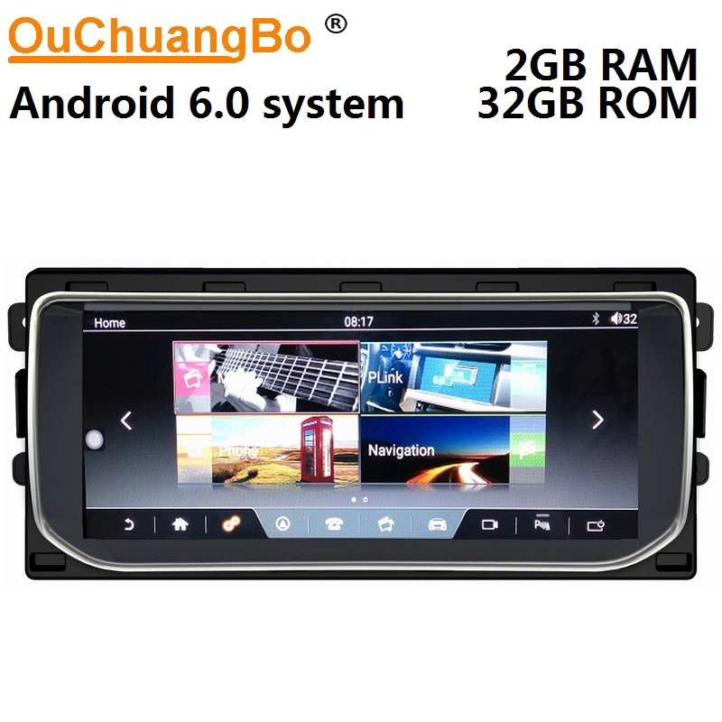Ouchuangbo android 6.0 media radio recorder per Range Rover Vogue 2012-2016 supporto gps di navigazione 10.25 pollice 2 gb + 32 gb