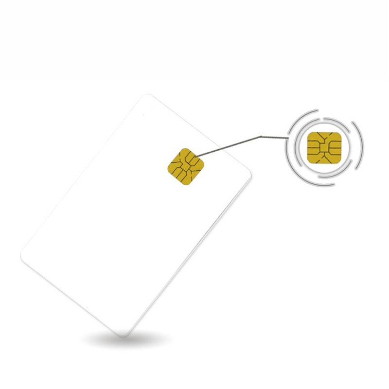 FM 4428 (SLE4428)Chip Smart Contact IC Cards ISO7816 PVC Smart Contact IC Card