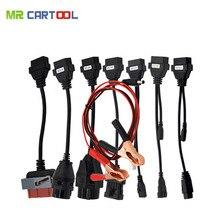 OBD2 полный набор 8 авто кабели работать для TCS CDP Pro Plus канатной диагностический инструмент Интерфейс кабель Бесплатная доставка