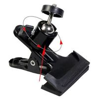 2015 Hot Sale ZJM Camera tripod New Clip Clamp Holder Mount for Studio Backdrop Camera