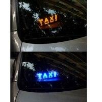 led white Daytime running lights for the car TAXI led light Cab indicator Car light Custom design Fog light Red/Blue/White/Yellow/Green (2)