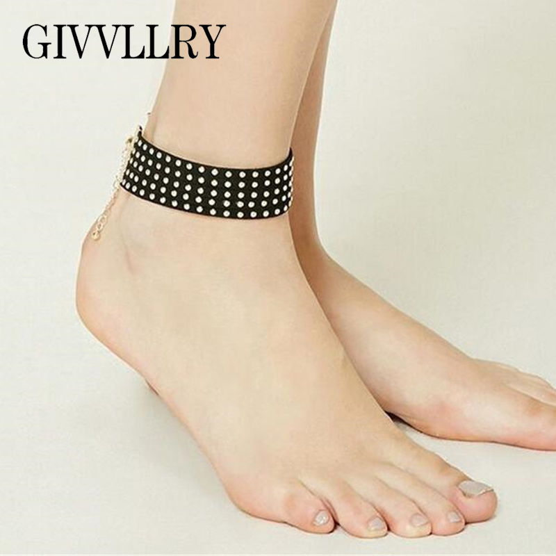 silver bohemian blue big for anklets women ankle jewelry color anklet beads products womens foot bracelet boho ankles cheville vintage stone antique