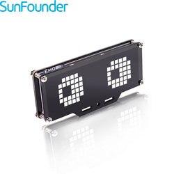 SunFounder Emo 24*8 A Matrice di punti LED Display Modulo di Controllo MCU Kit FAI DA TE per Arduino e Raspberry Pi