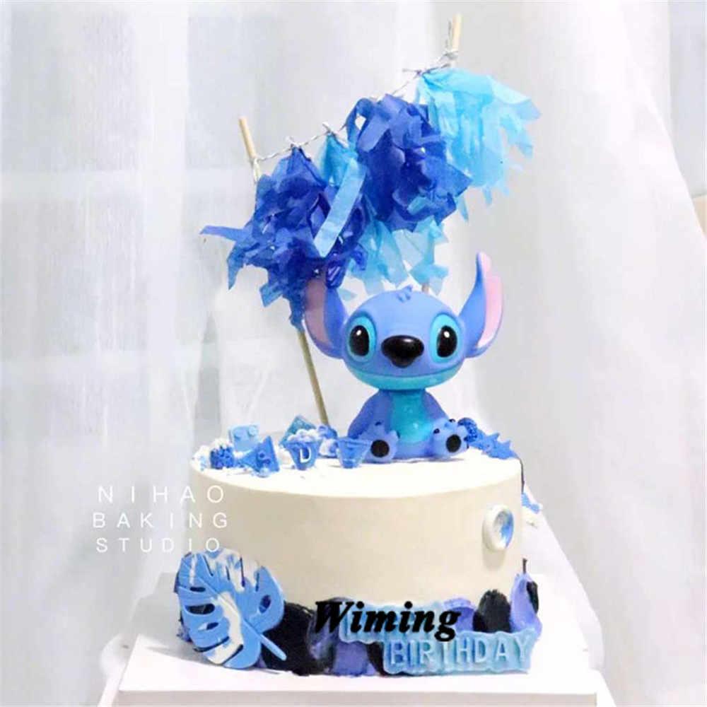 Awesome Stitch Animal Birthday Cake Topper Kids Toys Boys Baby Children Personalised Birthday Cards Paralily Jamesorg