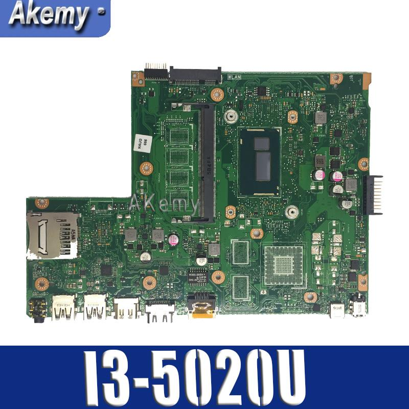 X540LA  Laptop Motherboard I3-5020 CPU For ASUS X540L X540LJ X540LA Mainboard Test 100% Ok 90NB0B00-R00030