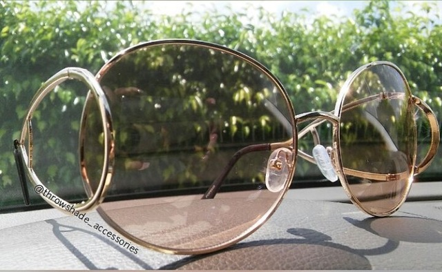 Cat Eye Oversized Fashion Sunglasses