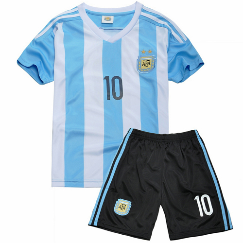 d294ccda5 Cheap Clothes China Argentina Children Soccer Jersey Sports baby kids  Football Kid Shirts Player Version MESSI 10 Baby Clothes