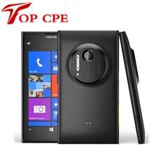 Original Nokia Lumia 1020 41.0MP Camra 32GB ROM 2G Brand mobile phone unlocked 4.5″ Touch screen Dual core WIFI Free shipping