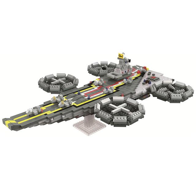 Pirate Boat Diamond Building Blocks Toys Black Pearl Edward Newgate Ship Model Cartoon Mini DIY Bricks