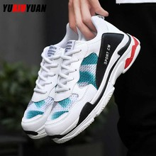 Spring Fshion Breathable Nonslip Running Shoes Men Women Comfortable Lightweight Wearable