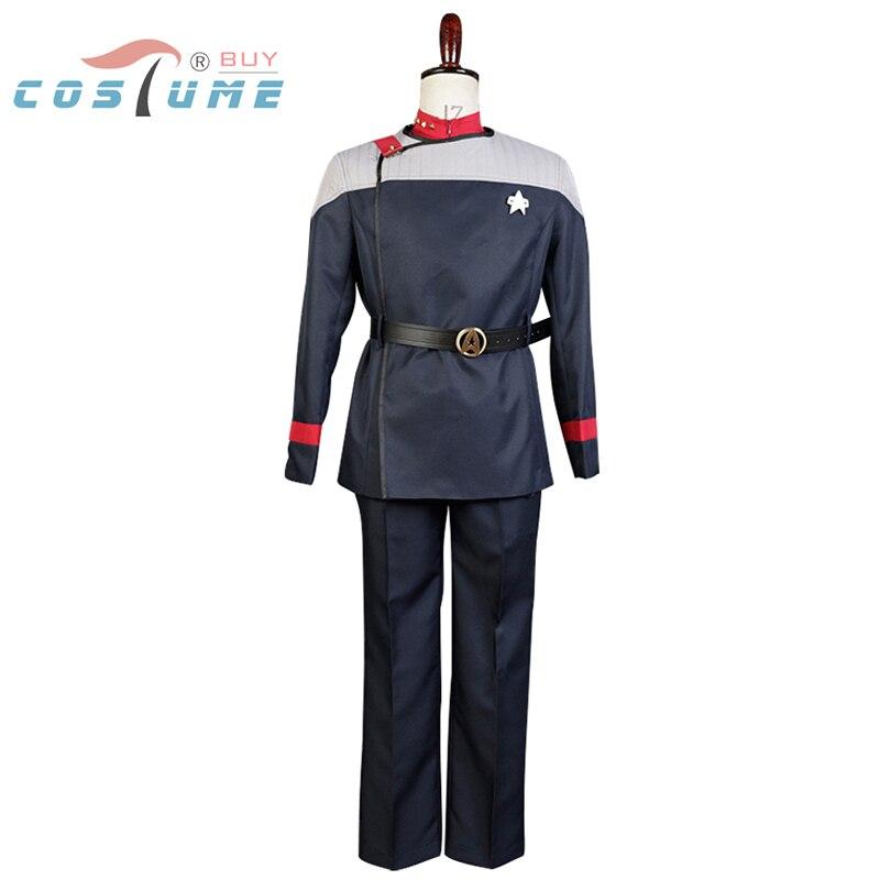 Star Trek Звездного Флота 31 форма пальто Брюки для девочек красный внутренняя рубашка для Для мужчин Фильм Хэллоуин Косплэй костюм Индивидуаль