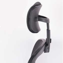 Descanso de cabeça ajustável para computador, descanso de cabeça giratório para escritório para cadeira, acessórios para proteção do pescoço