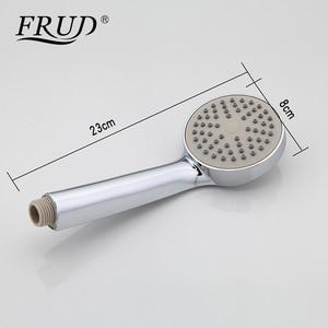 Image 4 - Frud 1set bathroom fixture Zinc alloy faucets with hand shower head toilet water basin sink tap bath sink faucet water mixer