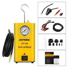 Autool SDT202 Универсальный Автомобильный Evap/вакуумная машина для диагностики дыма автоматический детектор утечки инструмент-тест для автомобильной утечки с дымом