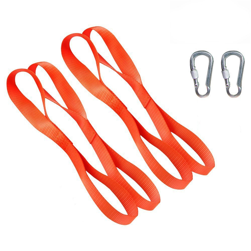 4PCS 12 Universal Soft Loops Car Motorcycle Towing Ropes Tie Down Straps For Motocross Motorbike ATV Dirt Bike Tie Downs