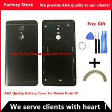 Задняя крышка батареи для Redmi Note 4X Задняя крышка батареи для Redmi Note 4 глобальная версия корпус+ Кнопки громкости+ кнопки питания