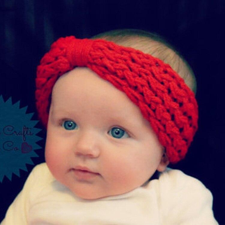 Elastic wrap Baby Headband