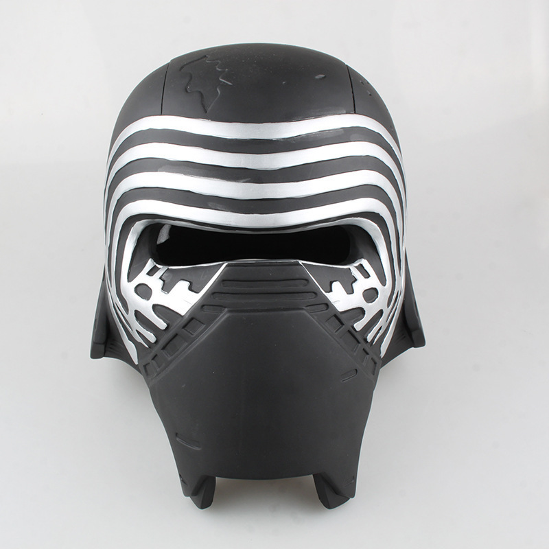 Star Wars Kylo Ren Adult Cosplay Mask Helmet 1:1 Resin Action Figure Collectible Model Toy color metal 3d puzzle star wars millennium falcon for adult 2016 new batman flying wing kylo ren shuttle 3d nano jigsaw puzzles