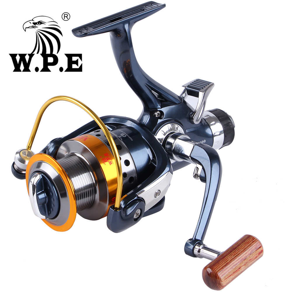 WPE VENUS2 Series 9+1 BBs Spinning Fishing Reel 5.1:1 Front and Rear Drag System 3000-6000 Carp Fishing Spinning Wheel