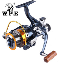 WPE VENUS2 Series 9+1 BBs Spinning Fishing Reel 5.1:1 Front and Rear Drag System 3000-6000 Carp Fishing Spinning Wheel цены