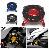 Motorcycle CNC Aluminum Engine Guard Cover Protector For Yamaha SMAX155 2013 2015 Red Color