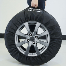 1Piece Tire Cover Case Car Spare Tires Covers Storage Bags Carry Tyre Accessories Vehicle Wheel Protector