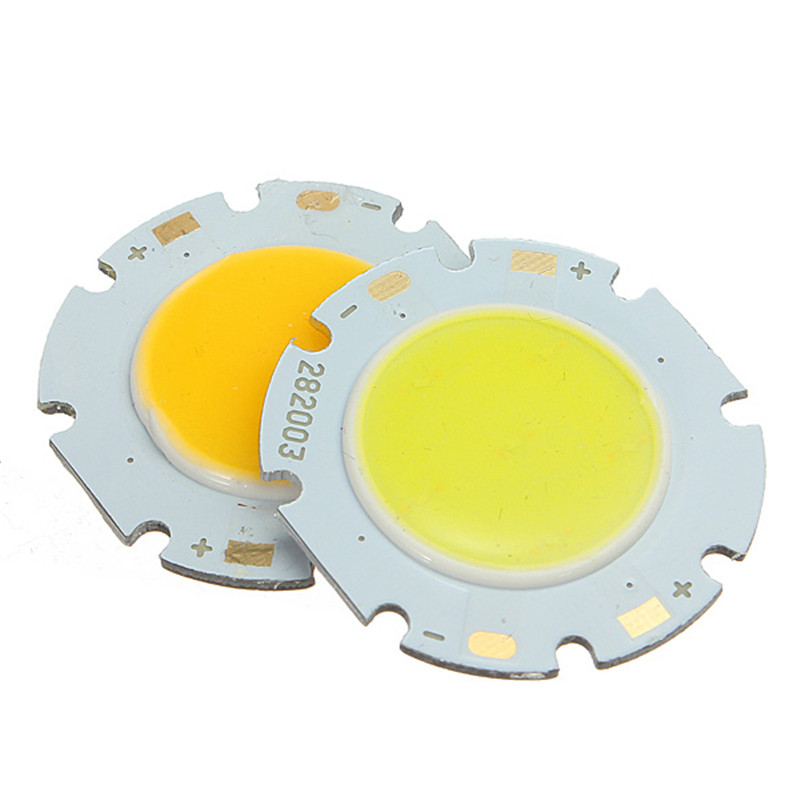 Big Promotion 3W 7W 9W 10W 20W 30W Round COB LED SMD Chip High Power Lights Lamp Bulb Warm White Pure White 1w led bulbs high power 1w led lamp pure white warm white 110 120lm 30mil taiwan genesis chip free shipping