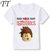 2018 Children Roblox Stardust Ethical Funny T-Shirts Kids Summer Tops Boys/Girls Short Sleeve Clothes Game Baby T shirt,ooo2181(China)