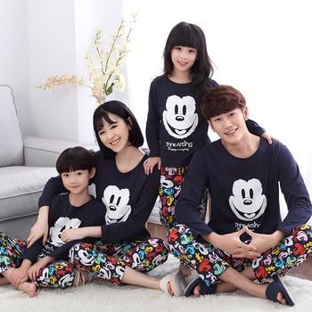 42692e53a Mickey Mouse ropa familia madre padre e hijos ropa navidad pijamas pajamas  de niños familia madre mama hija ropa moda ropa igual para hija y madre  conjunto ...
