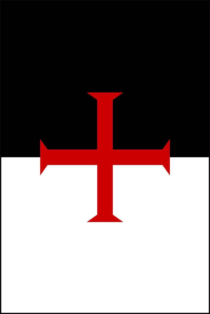T-shirt Cavalieri Templari Bandiera Nuovi Piani di 2017 Lettere di Stampa Uomini T camicia A Manica Corta 100% Cotone Uomo Tee Top Girocollo Vestiti