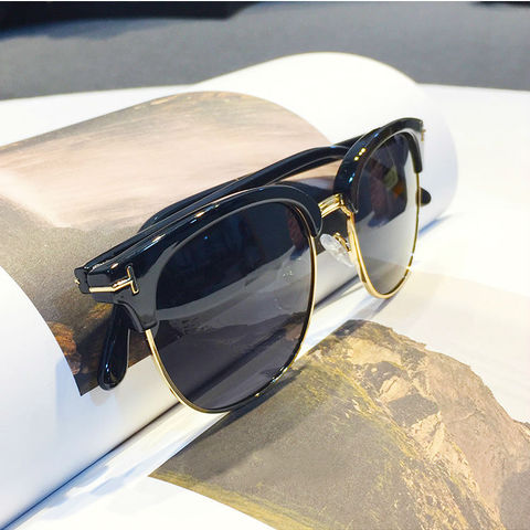2018 James Bond Sunglasses Men Brand Designer Sun Glasses Women Super Star Celebrity Driving Sunglasses Tom for Men Eyeglasses Multan