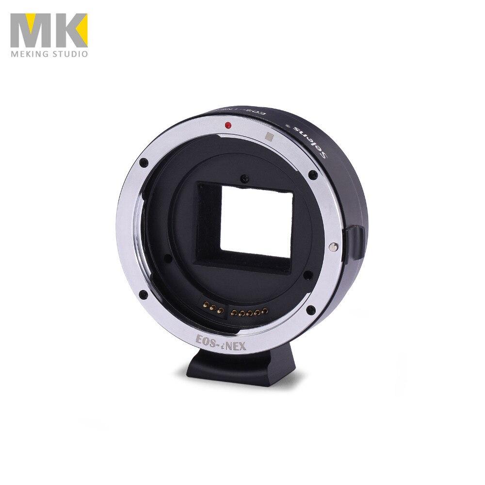 ФОТО Selens Camera metal For EOS-NEX Ring mount lens adapter ring metal support AV/m for Sony NEX-7 NEX-6L NEX-5T NEX-5N NEX-5