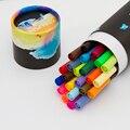 Ручка с двумя кистями  цветные художественные маркеры  24 цвета-с наконечником из волокна Fineliner 0 4  мелкая точка-эскиз  маркер для рисования дл...