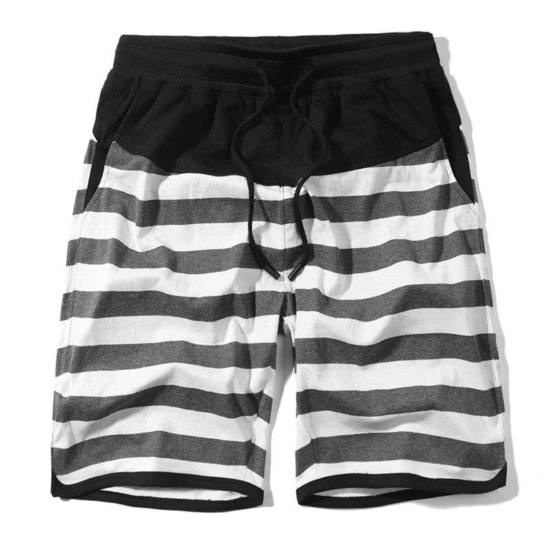 ec0a22f880 ASALI Summer Men Casual Shorts Brand Stripe Elastic Waist Drawstring Short  Pants Mens Beach Wear Board Shorts 2019 New Fashion