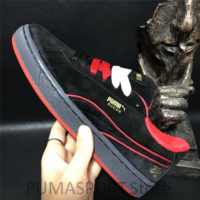 5f9d1b07b14 New Arrival Puma Suede 50 Fubu Men s and Women s Breathable Sneaker  Badminton Shoes Size36-44