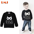 1-4Yrs Baby Boys Long Sleeve T shirts New 2016 Autumn Kids Top Tees Batman Clothing Children Clothing Children Hoody Sweater