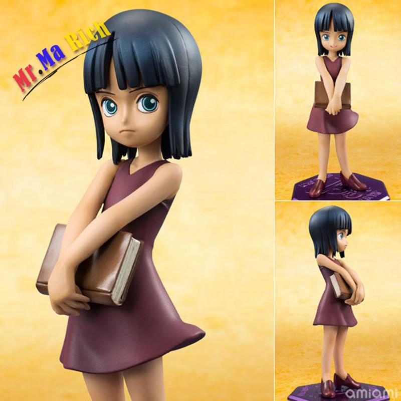 Free Shipping One Piece Model Nico Robin Doll Ornaments Childhood Ver Onepiece Action Figure Pvc Toy 10cm