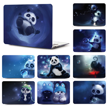 Cute animal pattern laptop case for Macbook Air 13 A1466 A1369 With Keyboard Cover for MAC Retina 12 13 15 lapto bag 11 inch