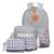 3 PC/Set Elegante Impressão de Lona Mochila Mochilas Escolares Mulheres para adolescente Meninas Bonitos sacos de Livro Mochilas Laptop Saco Feminino Um Dos