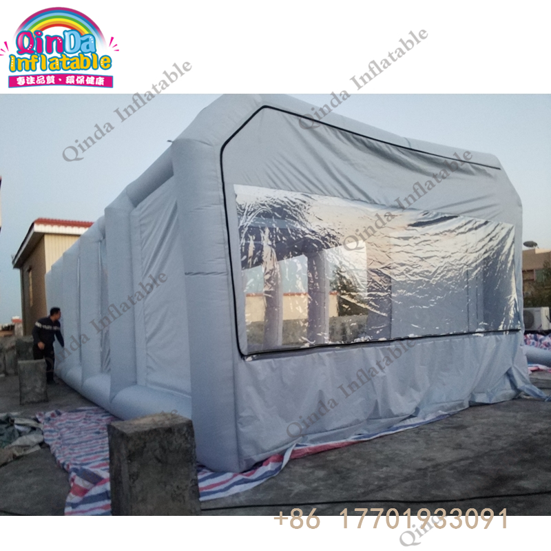 все цены на Outdoor Inflatable Spray Paint Tent Inflatable  Portable Spray Booth Car Workstation онлайн