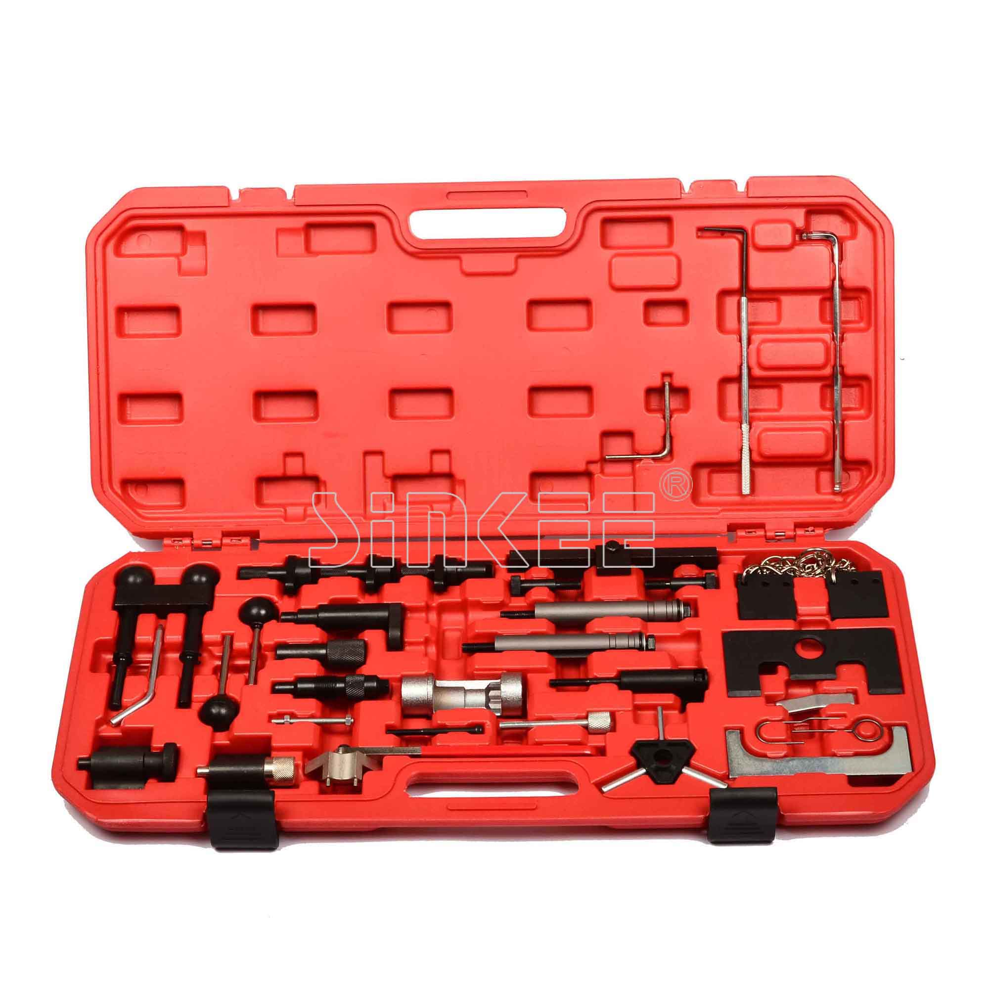 Gas Diesel Engine Timing Tool Set For VW Audi (A4,A6,A8,A11 ) 97-04 Automotive Tools цена