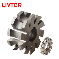 LIVTER Half Circular Milling Cutters Concave According DIN 855A