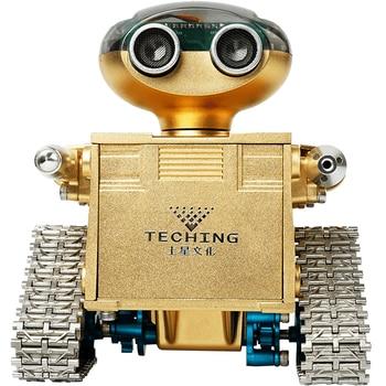 Wali Robot Metal Model Remote Control Assembling Smart Toys Assembling Metal Blocks фото