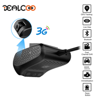 Dealcoo Car DVR Camera ADAS 1080P FHD WDR 3G WIFI GPS Tracking Live Video Monitoring Parking Mode Night Vision Motion Detection