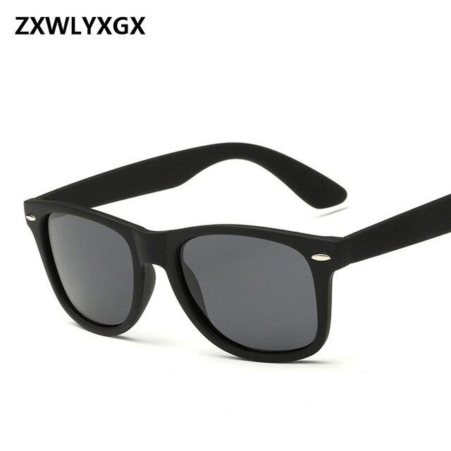 e7b4de91b ZXWLYXGX Adulto Oferta Especial Óculos Novo 2017 óculos de Sol Reflexivos  Homens Moda Mulheres Óculos de