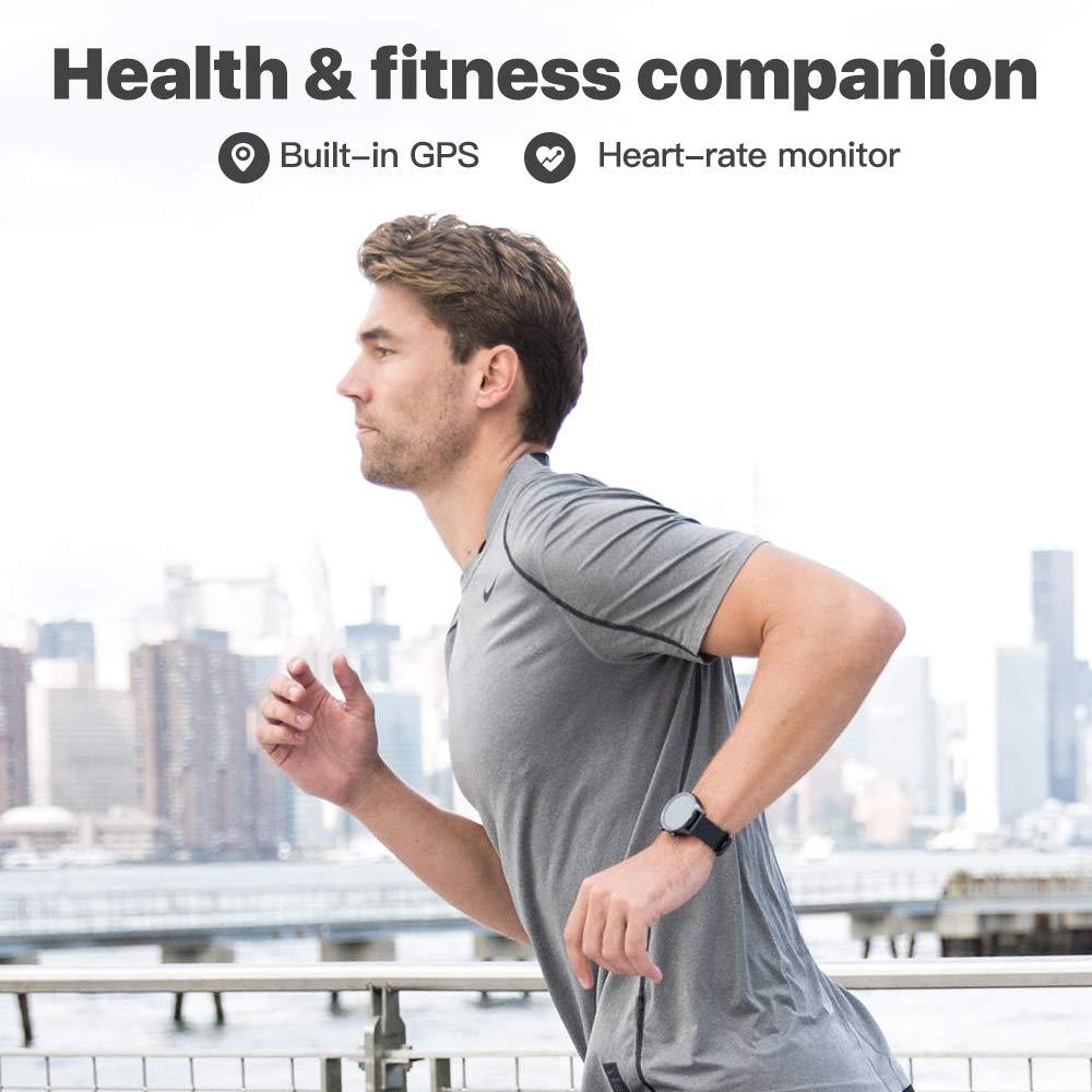 Original Ticwatch C2 Smartwatch Wear OS por Google incorporado GPS Monitor de ritmo cardíaco rastreador de Fitness Google pagar gratis regalo-Correa - 4