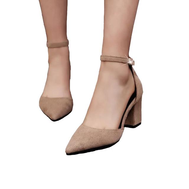 Fashion High Heels Newest Women Pumps Summer Women Shoes Thick Heel Pumps Comfortable Shoes Woman Platform Shoes