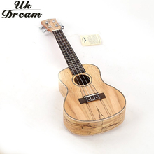 UK DREAM 23 Inch Rotten Concert Ukelele Mini Hawaii Acoustic Guitar 4 String Guitar with Gig Bag For Beginners or Professional kmise concert ukulele ukelele uke zebrawood 23 inch 4 string hawaii guitar with gig bag