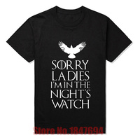 New Arrival Men Summer Fashion Style T Shirts Game Of Thrones Nights Watch Oath T Shirts