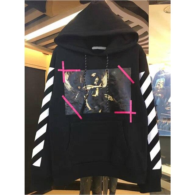 justin Bieber New hip hop Streetwear Pyrex OFF WHITE Hoodies Twill Men Hooded hoody sweatshirts off-white Virgil Abloh